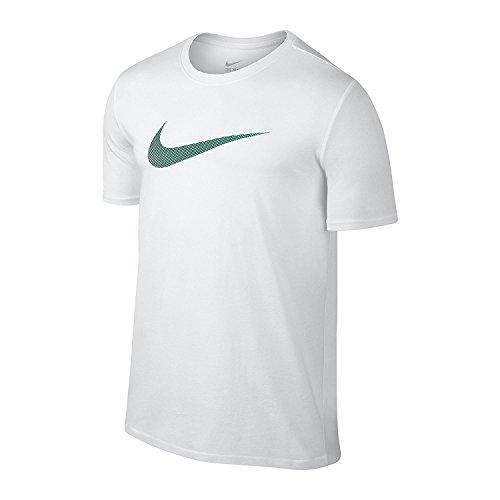 Nike Tennis della Gonna de la Frontera per donna White/Liquid Green