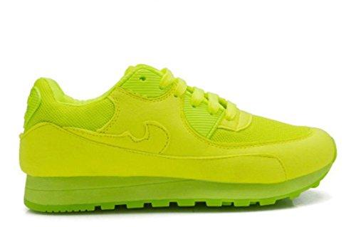 Scarpe YCMDM Donne Sport ShoesThe nuovo singolo della maglia di modo scarpe traspiranti , green , 40