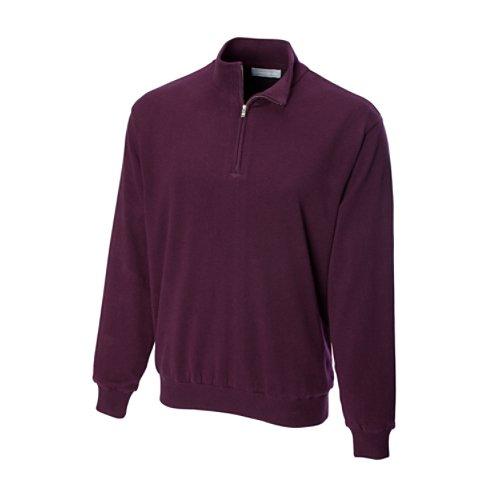 Cutter & Buck Men's Sandpoint Half Zip Golf Wind Sweater, Madera, Medium