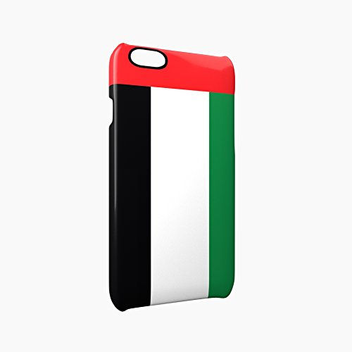 Flag of United Arab Emirates Glossy Hard Snap-On Protective iPhone 6 Plus + / 6S Plus + Case Cover