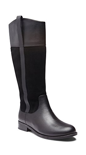 Vionic Women's Country Downing Boot Knee High Black 9.5 M ()
