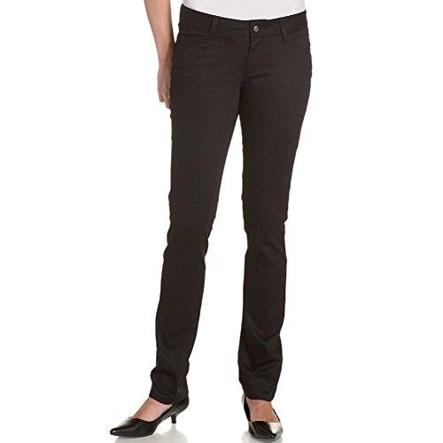 Dickies Girl Skinny Jeans - Dickies Girl - 164 Classic Skinny Mid Rise Black Jeans - 7