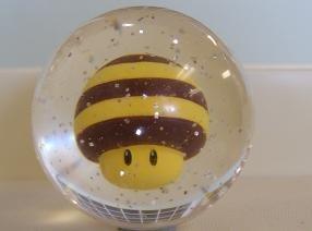 Nitnendo Super Mario Galaxy Figure in Bouncing Power Ball BEE Mushroom