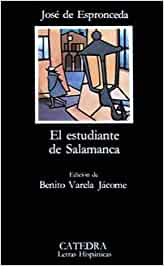 El estudiante de Salamanca (Letras Hispánicas): Amazon.es ...