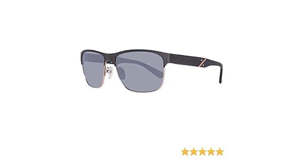 Guess Mens Designer Sunglasses Black//Grey 59-17-140