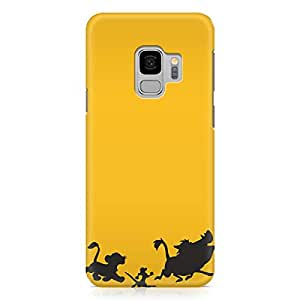 Loud Universe Hakuna Matata Song Impression Samsung S9 Case The Lion King Pumba Samsung S9 Cover with 3d Wrap around Edges