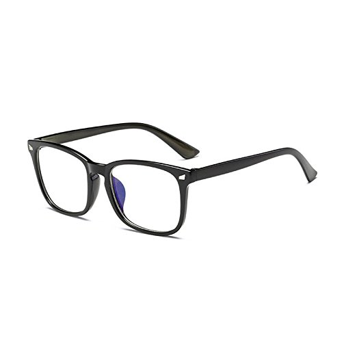 40ad1da1d52 BuyWorld New Fashion Computer Glasses Frame Women Men Anti-Bluee Radiation  Protection Flat Mirror Square Frame Eyeglasses  Amazon.in  Clothing    Accessories