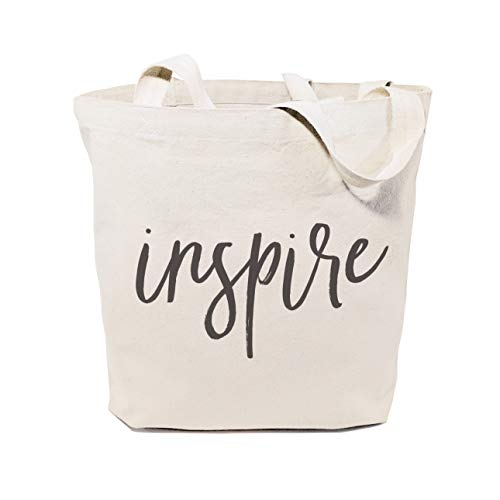 (The Cotton & Canvas Co. Inspire Gym, Shopping and Travel Resusable Shoulder Tote and)