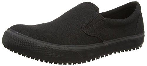 Shoes for Crews Men's Ollie-Canvas Work Shoes, Black (Black), 8 UK