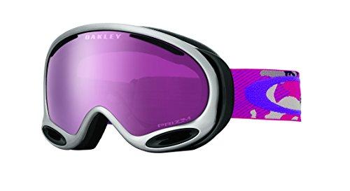 Oakley A-Frame 2.0 Goggles, GI Camo Purple Pink, Prizm Rose, - Pink Oakleys Camo