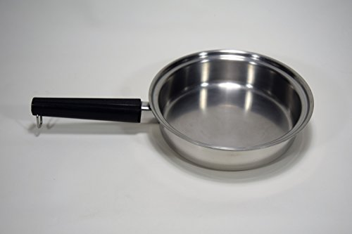 "Vintage West Bend EKCO Royal Prestige 5 Ply T304 Stainless Steel 9"" inch Saucepan Skillet Fry Pan Waterless Cookware MADE IN USA"