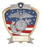Marines Military Shield Award 8 x 8.5''