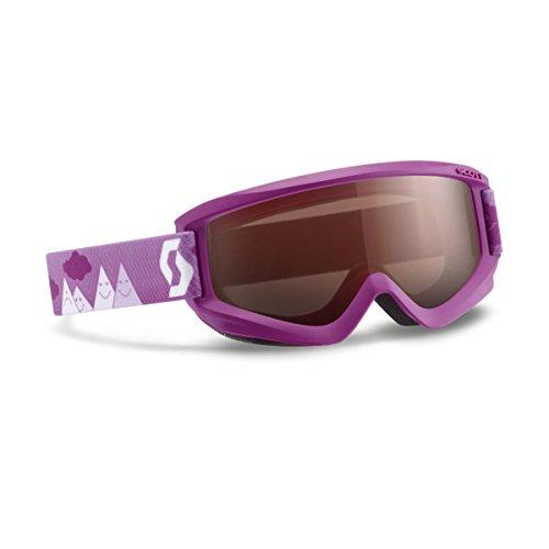 Jr Ski Goggle - Scott 2016/17 Youth Agent Junior Winter Snow Goggles - Double Amplifier Lens - 239997 (Purple - Double Amplifier Lens)
