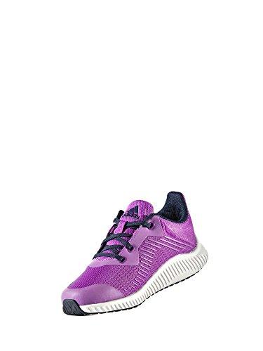 adidas FortaRun K - Zapatillas de deportepara niños, Rosa - (PURSHO/MARUNI/FTWBLA), 34