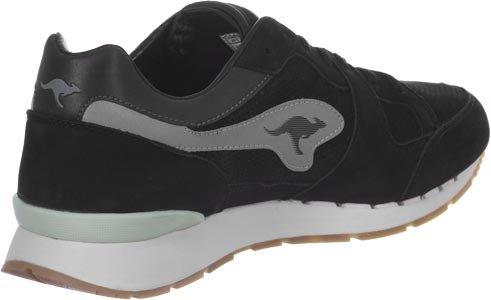 mid Coil Kangaroos grey 0 Nubuck chaussures black 44 R1 q4BCq