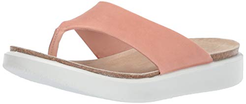 ECCO Women's Corksphere Thong Flip-Flop, Muted Clay, 40 M EU (9-9.5 US) from ECCO