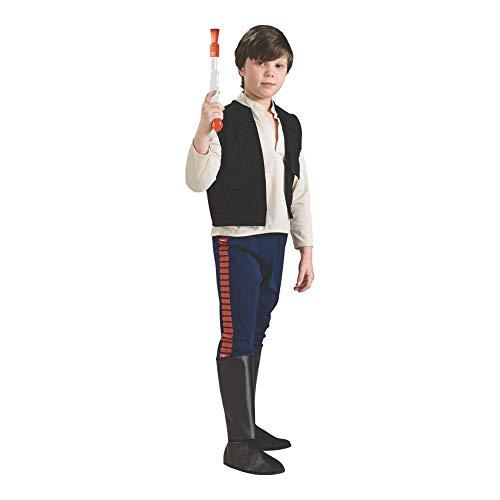 Rubie's Star Wars Classic Child's Deluxe Han Solo Costume, Medium -