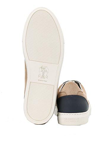 BRUNELLO Sneakers Men's Beige CUCINELLI MZUAGGY212CQ464 Suede 6r06Hxw
