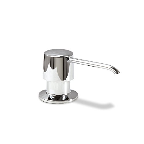 Mount Soap Lotion (Decor Star SD-004-TC Kitchen Bathroom Sink Deck Mount Soap or Lotion Pump Dispenser Chrome)