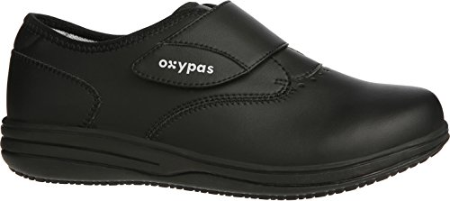 Oxypas - Zuecos para mujer negro