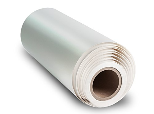 17M Gloss - 16.5 mil, 350 gsm, Bright White, Poly-Cotton Inkjet Canvas (17in-x-10ft)