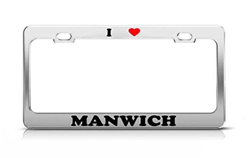 i-heart-manwich-food-fruit-vegetable-metal-auto-license-plate-frame-tag-holder