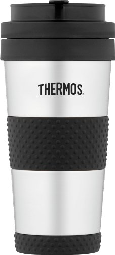 (Thermos 14 Ounce Vacuum Insulated Stainless Steel Tumbler, Stainless Steel)
