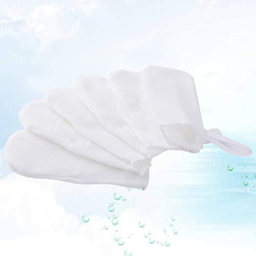 31rlaX4IeVL - HEALLILY 12pcs Baby's Finger Toothbrush Soft Gauze Dental Brush Infant Oral Hygiene Brush