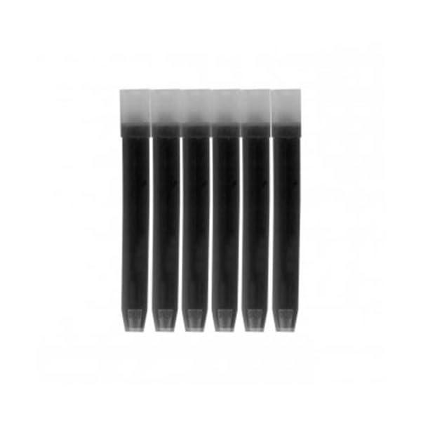 Pilot Ink Cartridges - Pack of 6, Black