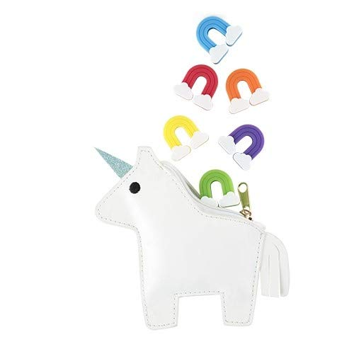 Cup Markers For Drinks With Unicorn Pouch Wine Charms For Glasses - Set Of 10 (Sold by Case, Pack of 10)