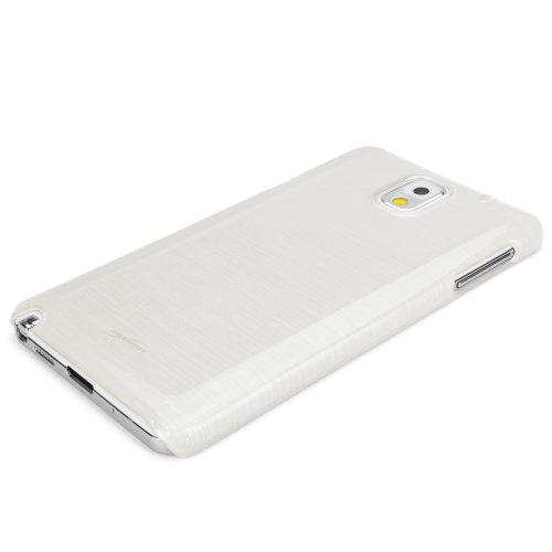 BoxWave Étui Samsung Galaxy Note 3Cas en verre gravé–Housse étui coque arrière cristal brillant en verre élégant design à motif–Samsung Galaxy Note 3coques et housses (Moonstone)