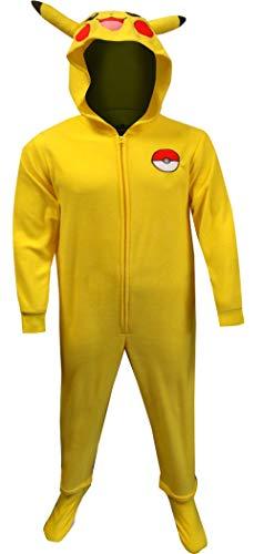 Underboss Men's Pokemon Pikachu One Piece Union Suit Pajama (Small/Medium) Bright Yellow ()