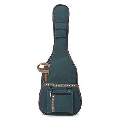 The House of Tara - Combat Blue Canvas Fabric Acoustic Guitar Bag 1