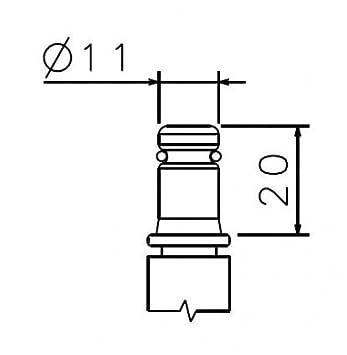 Packung mit 10 St/ück verursacht keine Kratzer Doppelrollen M/öbel-Ger/ät /& Zubeh/ör Set 2 St/ühle Ersatz 50 mm Gummi-Rad f/ür B/ürorollstuhl mit Drehgelenk