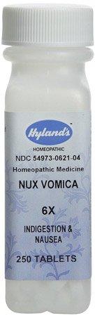 (Nux Vomica 6X (Indigestion & Sour Stomach) - 250 - Tablet)