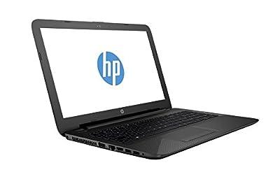 "HP 15-af131dx P1A95UA 15.6"" Laptop (AMD A6-Series, 4GB, 500GB, Windows 10 Home), Black"