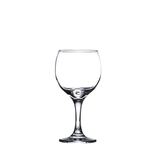 BISTRO 12-piece Wine Glasses Set (in 3 size), White, Red and Liquor Wine, Restaurant&Bar Quality, Durable Tempered Glass, Heavy Base, t.m. Pasabache (7 1/2 oz) by Pasabache (Image #6)'