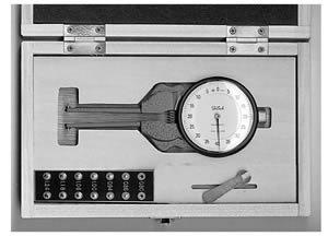 Inside Dial Caliper Gage,0.01M Grad,30-62MM Range
