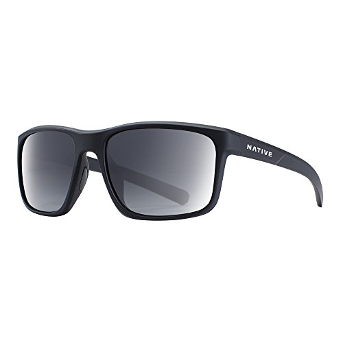 Native Eyewear Wells Sunglass, Matte Black Crystal, - Hide Behind To Sunglasses