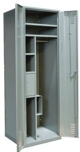(Hallowell (List Industries), Emergency Response Gear Locker, Hgl-2424N, W X D X H: 24 X 24 X 72, Herl422-1G-Hg)