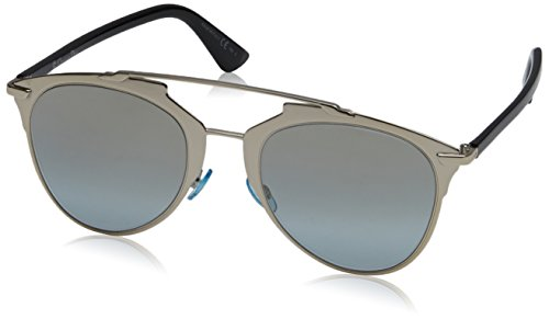 Christian Dior Dior Reflected EEI Light Gold Reflected Round Sunglasses Lens - Dior Mens