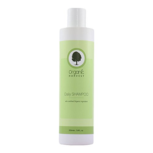 Organic Harvest Herbal Ayurveda Daily Shampoo No harsh chemicals, animal ingredients, parabens, mineral oil, or pesticides (500 ml / 16.9 fl oz) (Mild Shampoo For Daily Use In India)