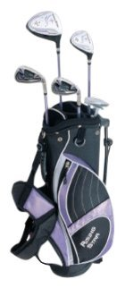 Paragon Golf Girls Golf Club Set, Lavender, Ages 8-10 – Left Handed For Sale