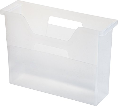 IRIS Desktop File Box 6 Pack Small Clear