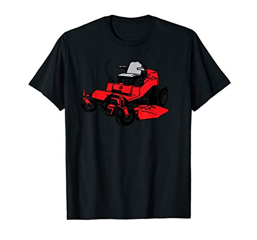 Riding Lawn Mower Tractor T-Shirt