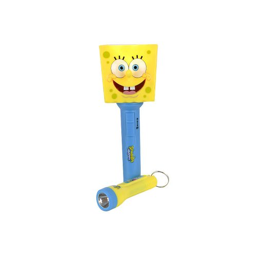 Spongebob Molded Flashlight with Mini (Spongebob Flashlight)