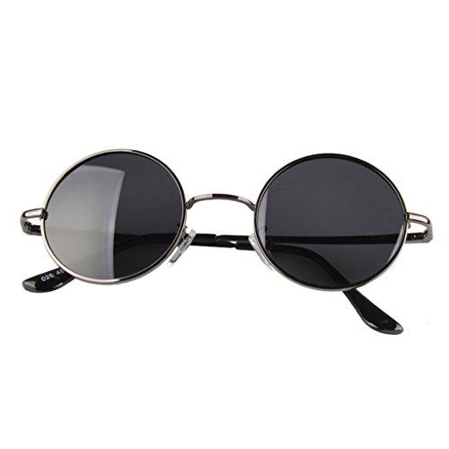 amp; Pour couleur Lym Soleil De Vintage Sunglasses amp;lunettes Et Femmes Eyewear Lunettes Protection Polarized Rondes B A Hommes qHPHxd
