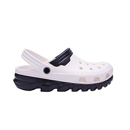 and Clogs Adults Men's Mules EVA black Sandals white Shower Slippers Garden fereshte Women's Beach Unisex Ox1F4