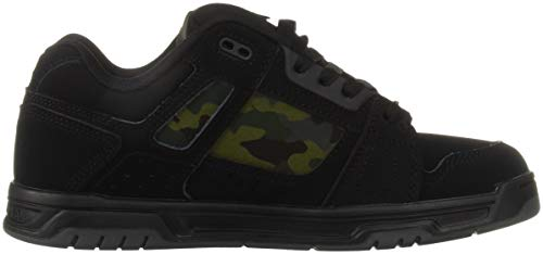 Camo Military Sneaker STAG Black Shoes Uomo DC RqzFP4
