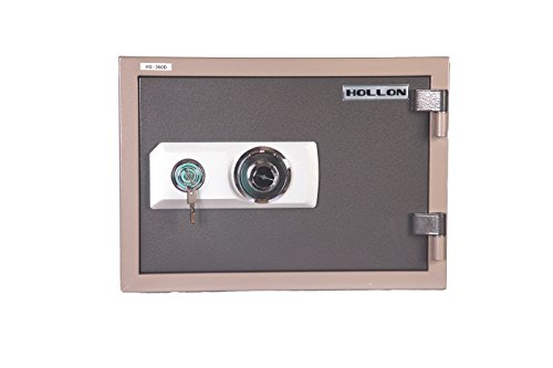 Hollon HS-360D 2 Hour Fireproof Home Safe
